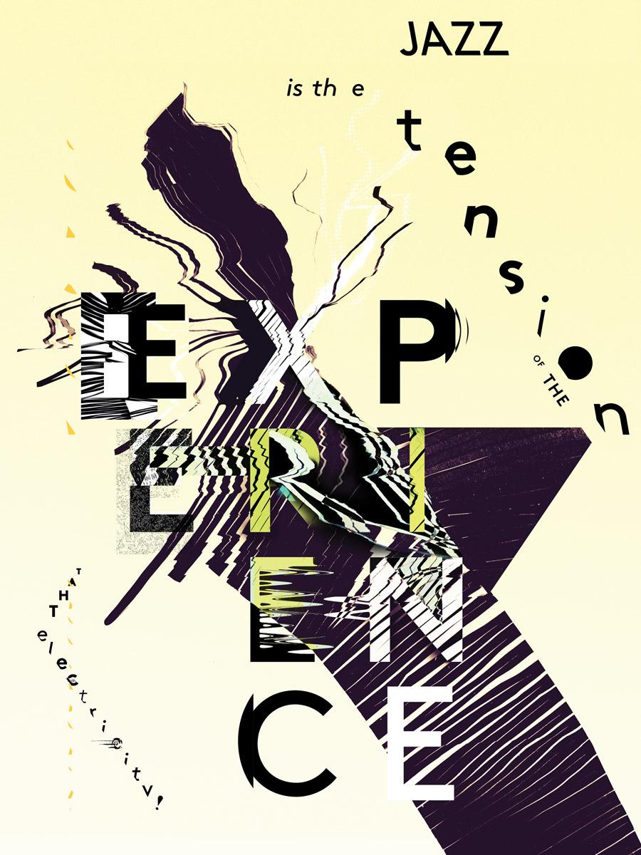 Sentence Jazz Poster