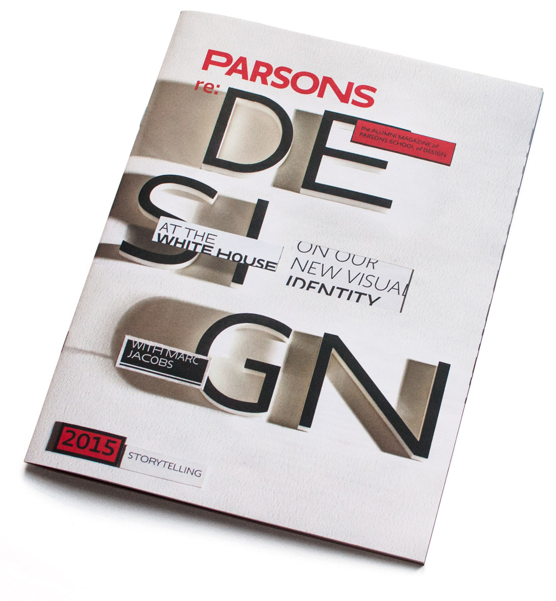 Parsons reD Magazine Cover