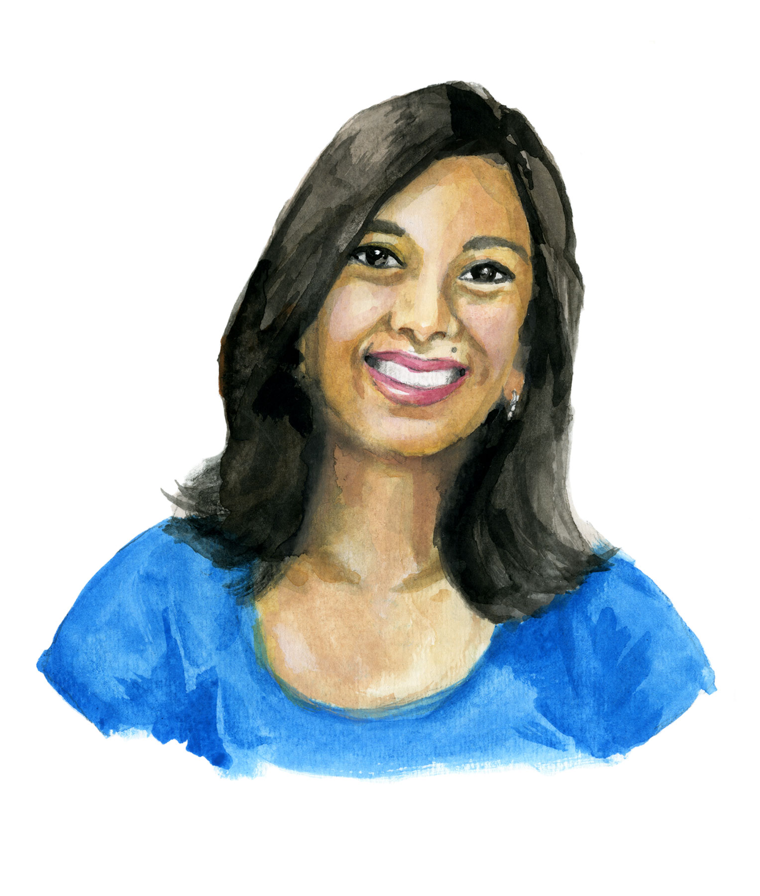 Anjali Gupta watercolor illustration