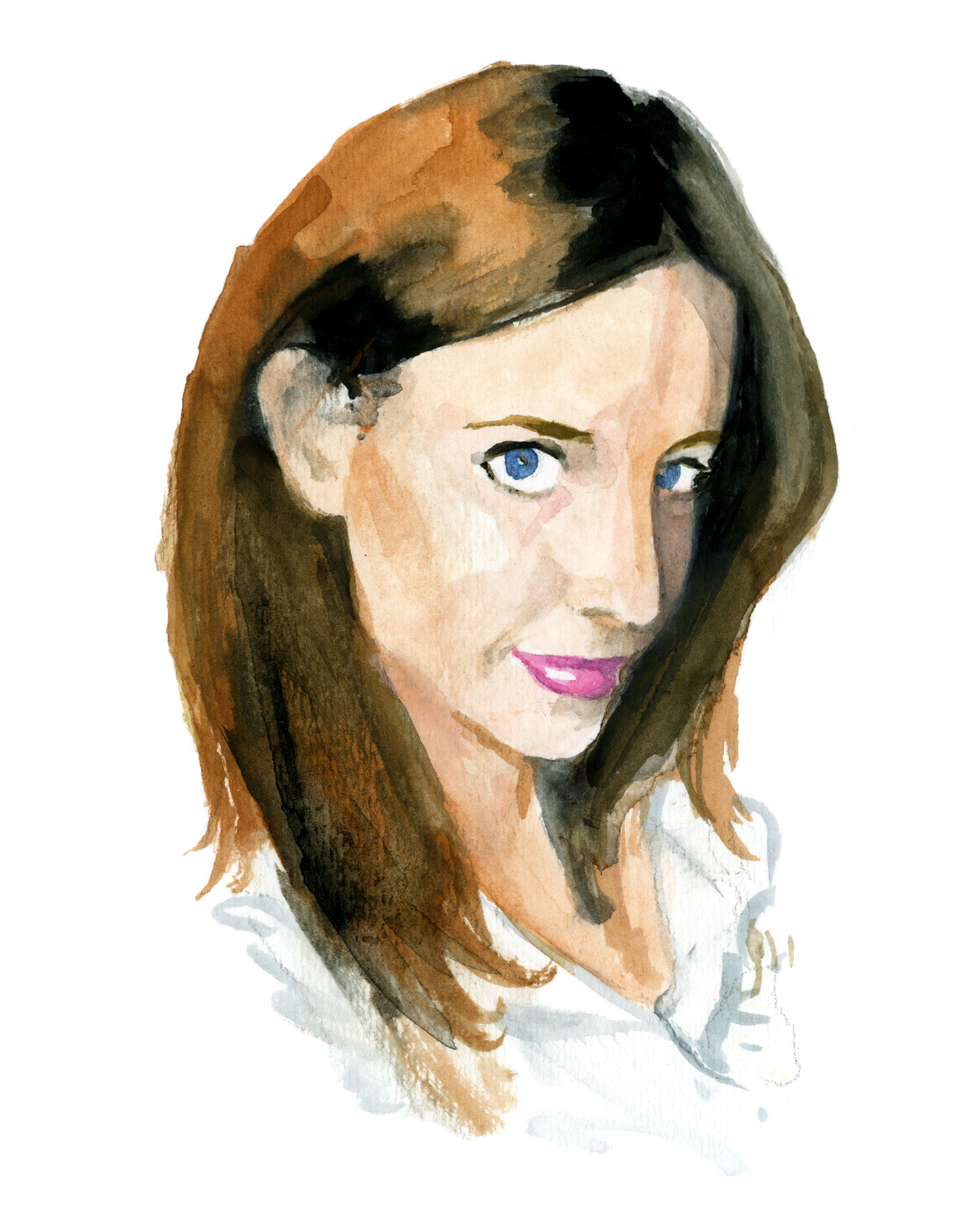 Jessica Ward watercolor illustration