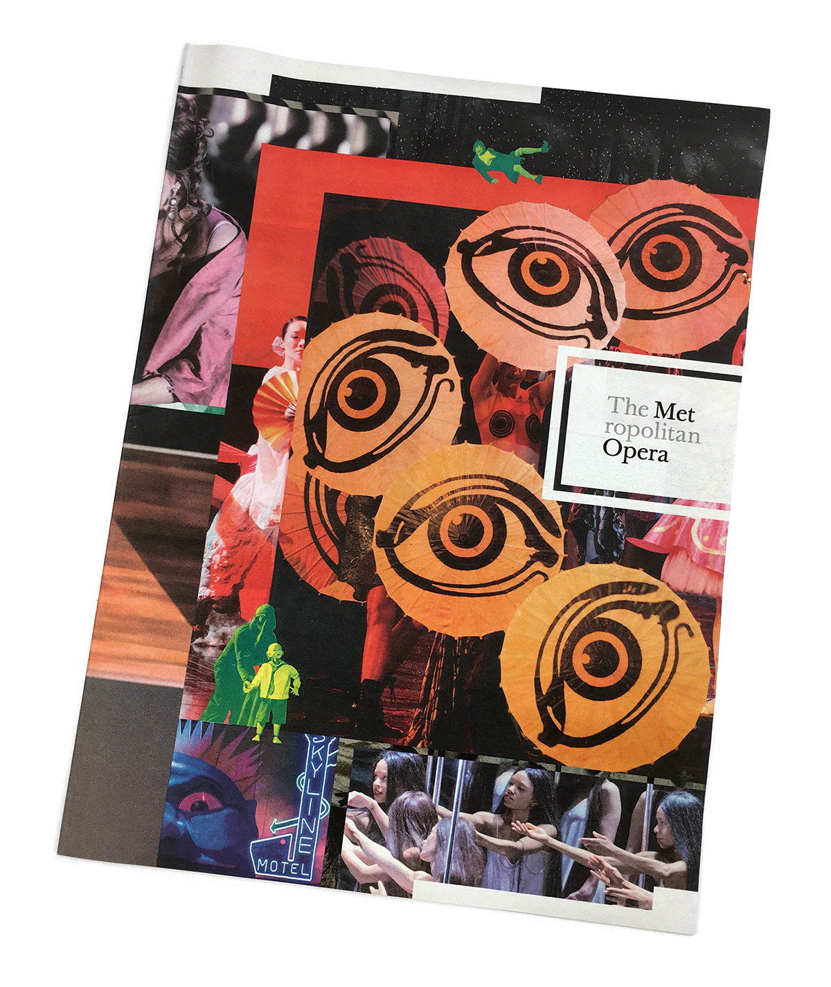 Metropolitan Opera print recruitment cover
